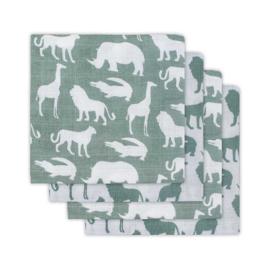 Hydrofiel 70x70 Safari Green