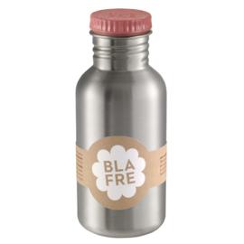 Blafre RVS fles 500 ml roze