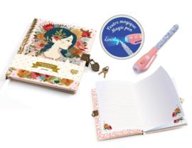 DJECO - dagboekje met slot + UV pen Oana