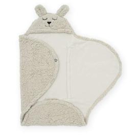 JOLLEIN - Wikkeldeken Bunny 100x105cm - Nougat
