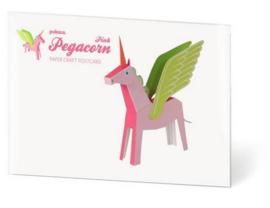 PUKACA - Eenhoorn met vleugels Roze