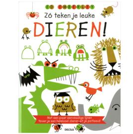 Boek - Zo teken je leuke dieren!