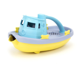 Greentoys sleepboot blauw new