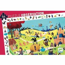 Djeco puzzel - Sprookjes 54 stukjes