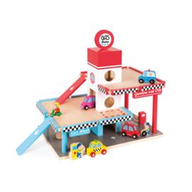 JANOD - Garage met pompstation