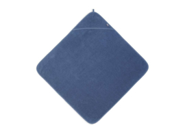 JOLLEIN - Badcape Badstof 75x75cm - Jeans blue