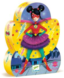 DJECO Puzzel 36 stukjes Super Star