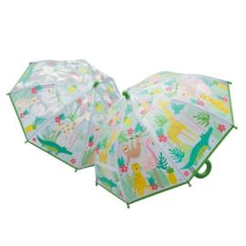 Magische paraplu jungle