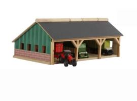 KidsGlobe Tractor loods in de kleine 1:87 schaal