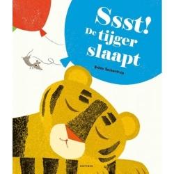 Kartonboek - Sssst! De leeuw slaapt