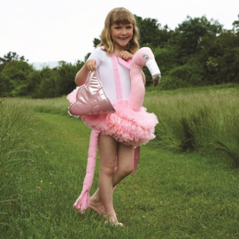 Ride-On flamingo