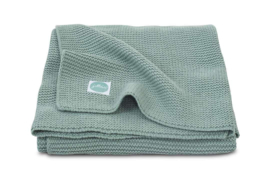 Jollein deken basic knit 75x100cm Forest Green