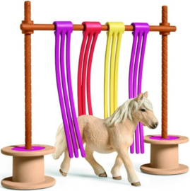 Schleich - Pony obstakel gordijn Schleich (42484)