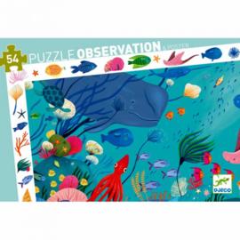 Puzzel observatie Zeeleven 54st