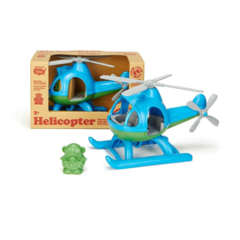 Greentoys helicopter blauw/groen