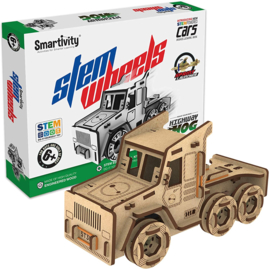 Smartivity stem wheels race truck