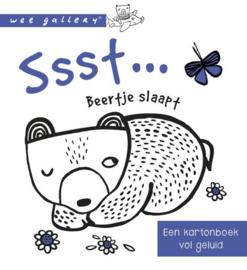 Wee Gallery - geluidenboek Sssst ...... Beertje slaapt