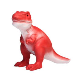 Dinosaurus T-Rex led lamp rood