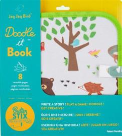 Jaq Jaq Bird: Doodle it Book Bos