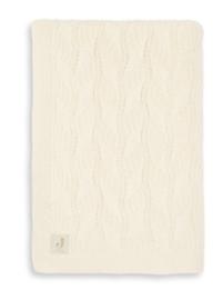 Jollein Deken wieg 75x100cm Spring knit ivory