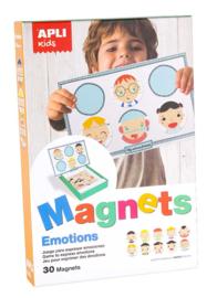APLI - Emoties Magneetkaart (bord 28x18cm, 30 magneten)