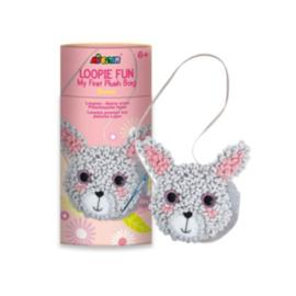 Avenir - Loopie Fun - My First Plush Rabbit