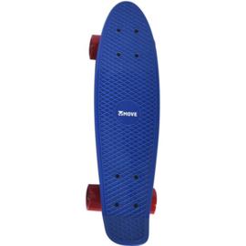 Move - Skateboard Old school Retro blauw