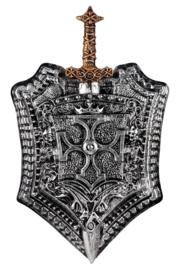 Schild en zwaard set Milan