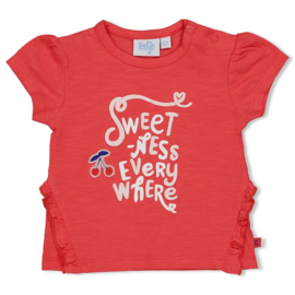 Feetje - T-shirt Everywhere - Cherry Sweetness