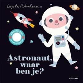 Kartonboek - Astronaut, waar ben je?