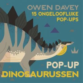 Pop-up dinosaurussen boek