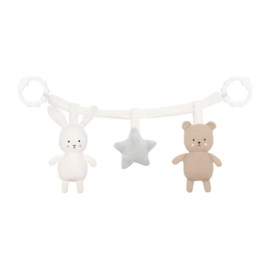 Jabadabado Kinderwagenspanner Teddy&Bunny