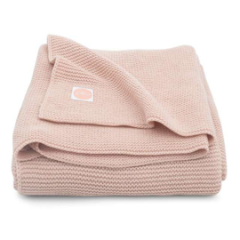 Jollein deken basic knit 75x100cm Pale pink