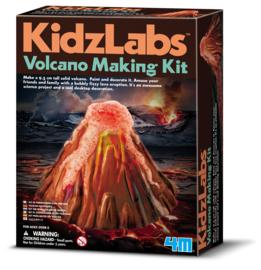4M Kidzlabs  Giet-En-Verf Een Vulkaan