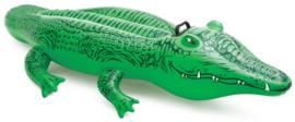 Krokodil opblaasbaar Intex: 168x86 cm