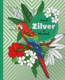 Zilverfolie kleurboek - Tropical