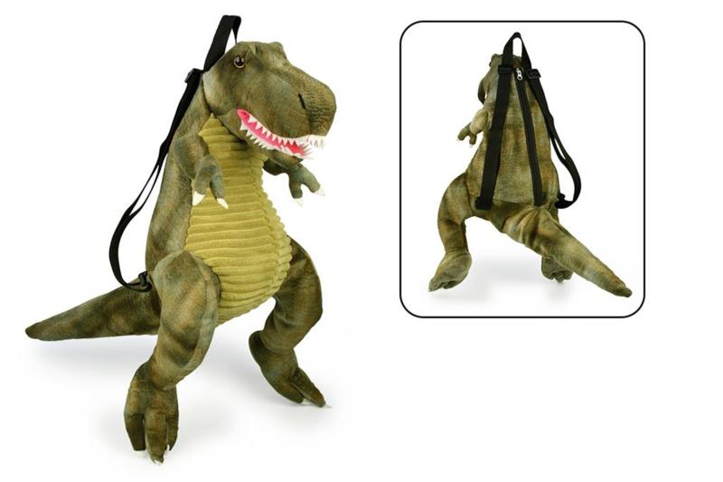 Dinosaurus T-Rex kinderrugtas