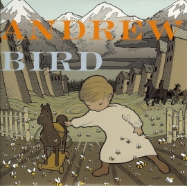 "Andrew Bird - The Crown Salesman  | 10"" single Orange vinyl"