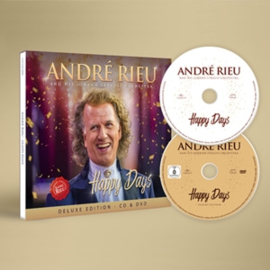 Andre Rieu - Happy Days-Deluxe- | CD + DVD