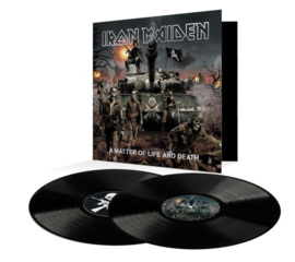 Iron Maiden - A matter of life and death  | 2LP