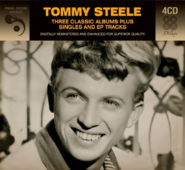 Tommy Steele - Three classic albums plus singles | 4CD