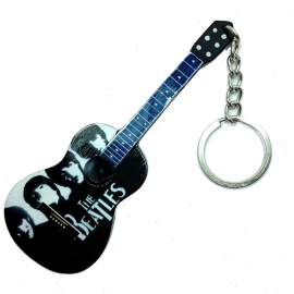 Sleutelhanger  Acoustic  Beatles Tribute Black