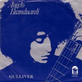 """Angelo Branduardi -  Gulliver - 2e hands 7"""" vinyl single-"""