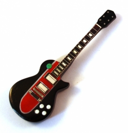 Gitaarminiatuur met magneet |   Les Paul Corvette - Slash (Guns 'n roses)