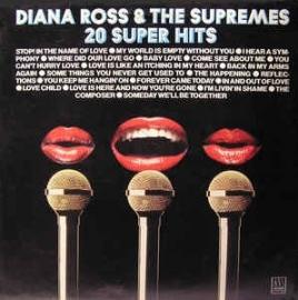 Diana Ross & the Supremes - 20 super hits  | 2e hands vinyl LP