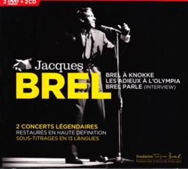 Jacques Brel - En Concert   4CD
