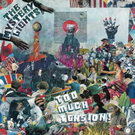 The Mystery Lights - Too Much Tension    CD