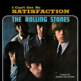 "Rolling Stones - I can't get no satisfaction | 12"" vinyl single COLOURED VINYL -USA IMPORT-"