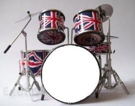 Miniatuur drumstel Pearl Proton  ( Charlie Watts Rolling Stones )