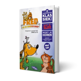 Joris Lutz - Fred En De Gouden Harp | Boek + CD